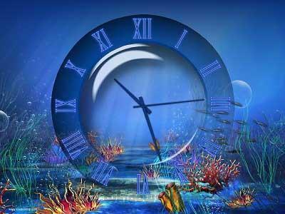 Aquatic Clock Screensaver 4 2 Free Download